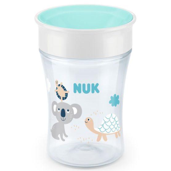 NUK EVOLUTION MAGIC CUP 8MJ+ TIRKIZ