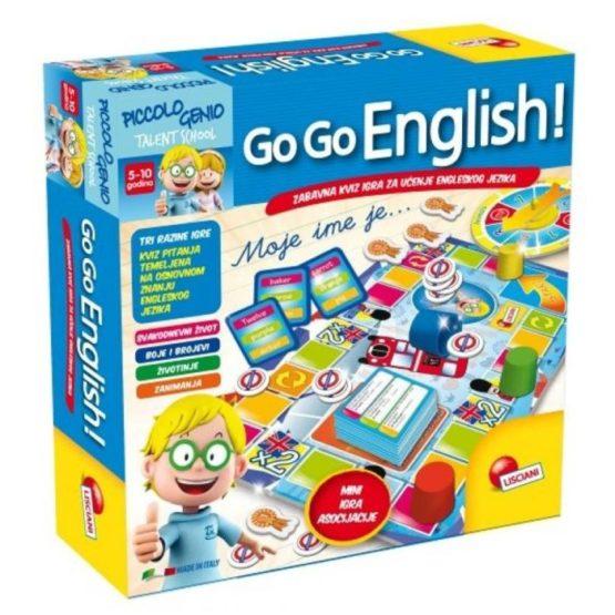 LISCIANI GO GO ENGLISH