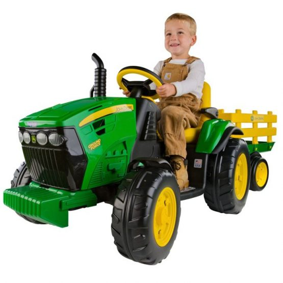 PEG PEREGO JOHN DEERE GROUND FORCE SA PRIKOLICOM
