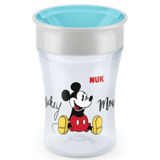 NUK EVOLUTION MAGIC CUP 8MJ+ MICKEY MOUSE TIRKIZ
