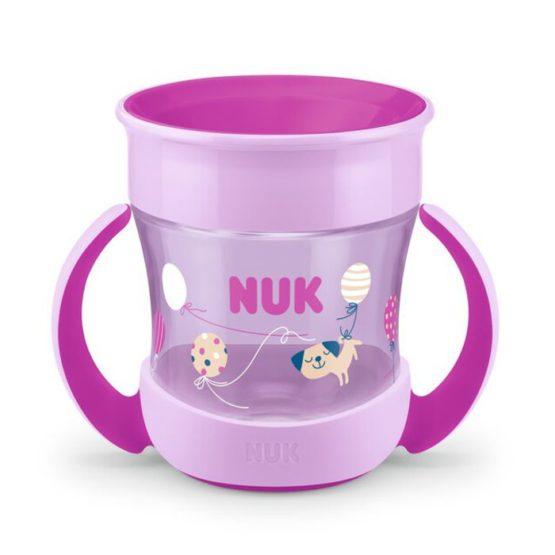 NUK MINI MAGIC CUP 6MJ+ LILA