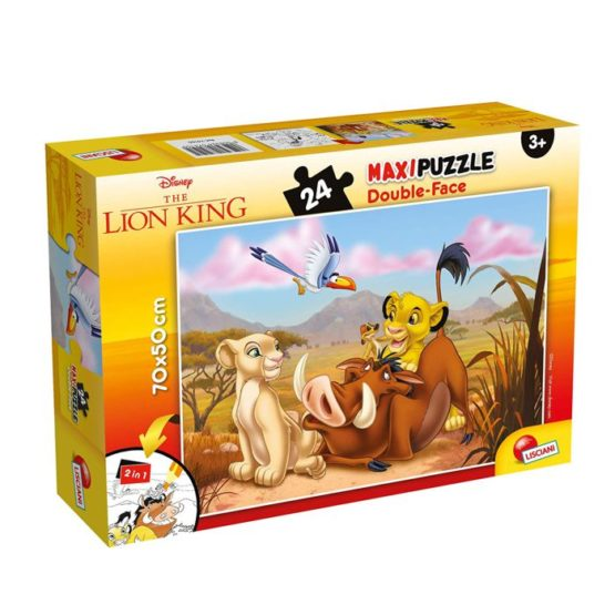 PUZZLE DF SUPERMAXI 24 LION KING