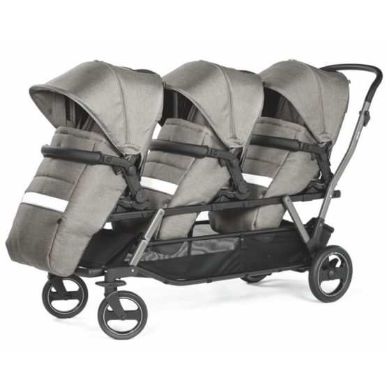 PEG PEREGO TRIPLETTE POP-UP CITY GREY